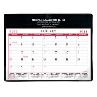 Customized Calendar Doodle Desktop Pad