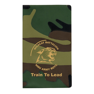 Customized Camouflage Monthly Pocket Planner