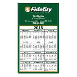 Customized Calendar Square Corner Magnet