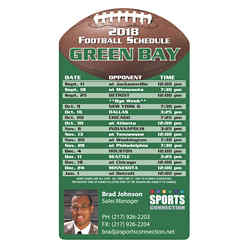 Customized Sports Schedule Magnet