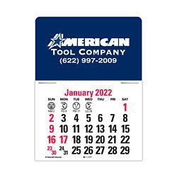 Customized Standard Press-N-Stick™ Calendar
