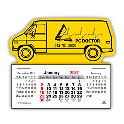 Customized 3 Month Horizontal Press-N-Stick™ Calendar
