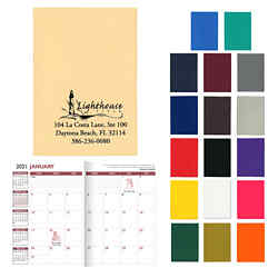 Customized Standard Vinyl Colors Monthly Planner
