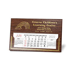 Customized Livingston Premier Desk Calendar