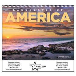 Customized Good Value™ Landscapes of America Calendar(Spiral)