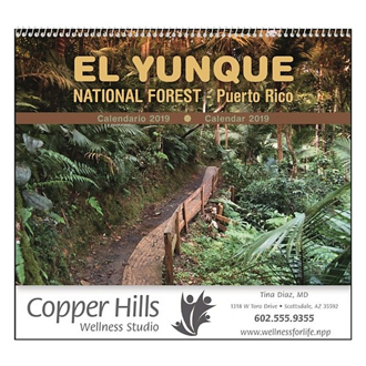 Customized Good Value™ El Yunque National Forest Calendar