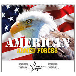 Customized Good Value™ The Armed Forces Calendar (Spiral)