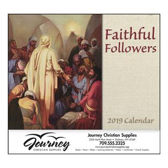 Customized Good Value™ Faithful Followers Calendar (Spiral)