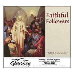 Customized Good Value™ Faithful Followers Calendar (Spiral)