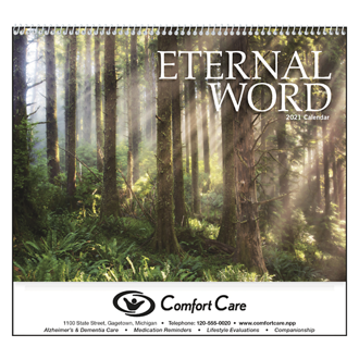 Customized Eternal Word Calendar w/ Funeral Pre-Planning Form