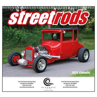 Customized Good Value™ Street Rods Calendar (Spiral)