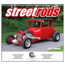 Customized Good Value™ Street Rods Calendar (Spiral)
