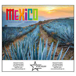 Customized Good Value™ Mexico Calendar (Spiral)