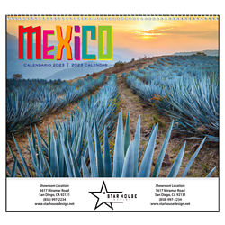 Customized Good Value™ Mexico Calendar (Spiral)
