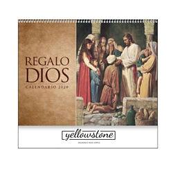 Customized Regalo de Dios Calendar w/ Funeral Planning Form
