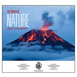 Customized Good Value™ The Power of Nature Calendar (Spiral)
