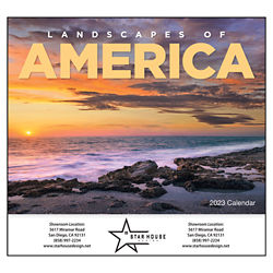 Customized Good Value™ Landscapes of America Calendar