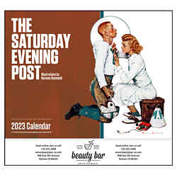 Customized The Saturday Evening Post by N Rockwell Calendar