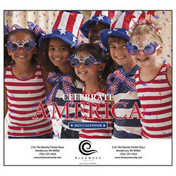 Customized Good Value™ Celebrate America Calendar (Stapled)