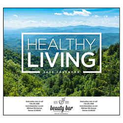 Customized Good Value™ Healthy Living Calendar (Stapled)