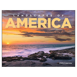 Customized Good Value™ Landscapes of America Calendar(Window)