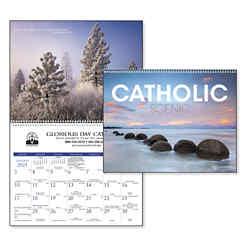 Customized Triumph® Catholic Scenic Executive Calendar