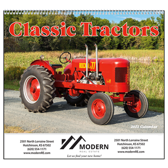 Customized Good Value™ Classic Tractors Calendar (Spiral)