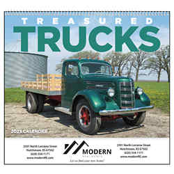 Customized Good Value™ Treasured Trucks Calendar (Spiral)