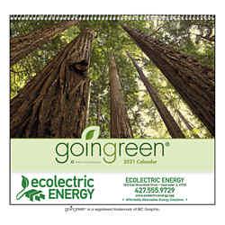 Customized Good Value™ Goingreen® Calendar (Spiral)
