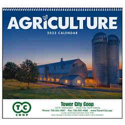 Customized Good Value™ Agriculture Calendar (Spiral)