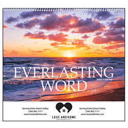 Customized Good Value™ Everlasting Word Calendar (Spiral)