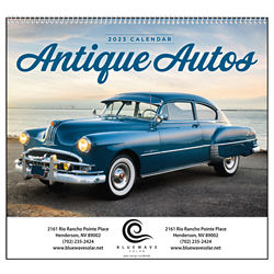 Customized Good Value™ Antique Autos Calendar (Spiral)