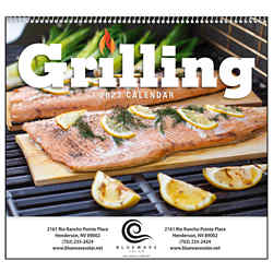 Customized Good Value™ Grilling Calendar (Spiral)