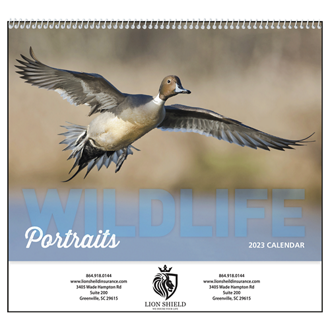 Customized Good Value™ Wildlife Portraits Calendar (Spiral)