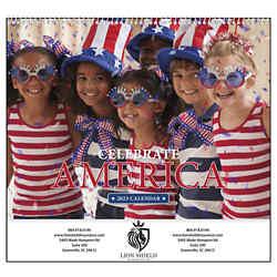 Customized Good Value™ Celebrate America Calendar (Spiral)