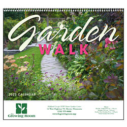 Customized Good Value™ Garden Walk Calendar (Spiral)