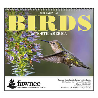 Customized Good Value™ Birds of North America Calendar
