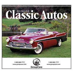 Customized Good Value™ Classic Autos Calendar (Spiral)
