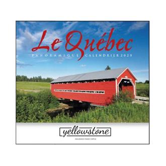 Customized 2019 Good Value™ Le Quebec Panoramique Calendar