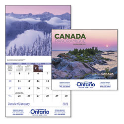 Customized Good Value™ Canadian Scenic Calendar-French/Eng.