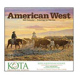 Customized Triumph® American West by Tim Cox Appt Calendar