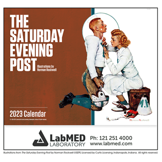 Customized Good Value™ The Saturday Evening Post Calendar