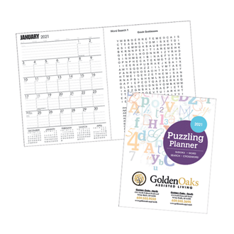 Customized Good Value™ Standard Puzzling Planner
