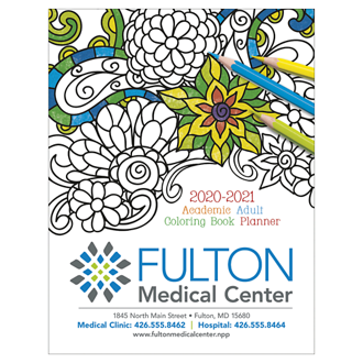 Customized Good Value™ Adult Colouring Book Planner