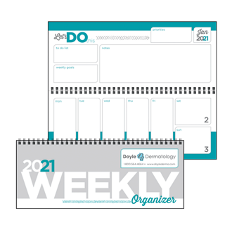 Customized Triumph® Weekly Organizer