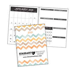 Customized Good Value™ Monthly Happenings Planner
