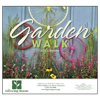 Customized Good Value™ Garden Walk Calendar