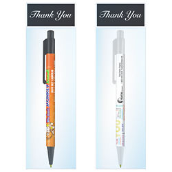 Customized Britebrand™ Colorama Pen with Thank You Gift Bag