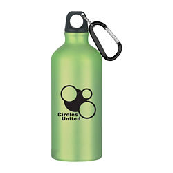 Customized Aluminum Bike Bottle - 20 oz