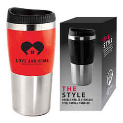 Customized The Style Travel Mug - 16 Oz